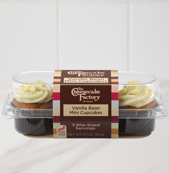 Image of Vanilla Bean Mini Cupcake 3-Pack