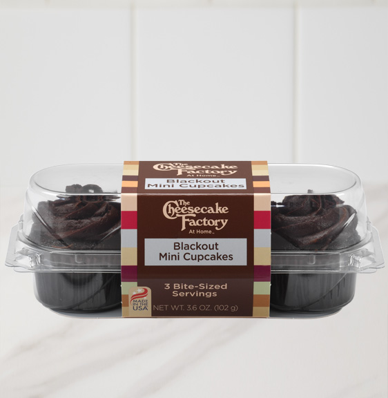 Image of Blackout Mini Cupcake 3-Pack