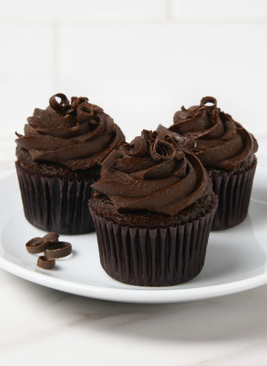 The Blackout Mini Cupcake